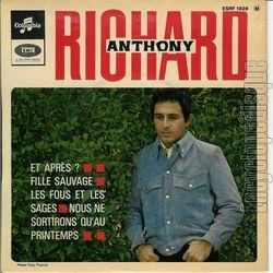 [Pochette de Fille sauvage (Richard ANTHONY)]