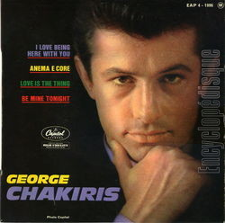 [Pochette de I love being here with you (George CHAKIRIS)]