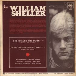 [Pochette de She opened the door (William SHELLER) - verso]