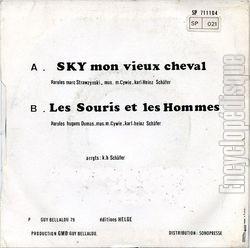 Encyclopdisque Disque Sky Mon Vieux Cheval