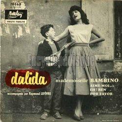 [Pochette de Mademoiselle Bambino - N°3 (DALIDA)]