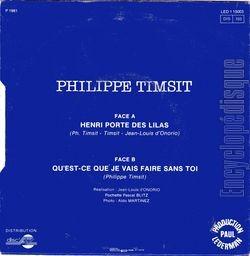 Encyclopdisque disque henri porte des lilas - Philippe timsit henri porte des lilas ...