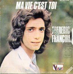 [Pochette de Laisse-moi vivre ma vie (Frédéric FRANÇOIS) - verso]