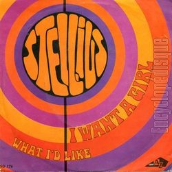 [Pochette de I want a girl (STELLIUS)]