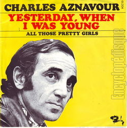 [Pochette de Yesterday when I was young (Charles AZNAVOUR) - verso]