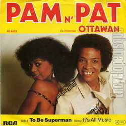 [Pochette de To be superman (PAM N' PAT)]