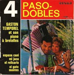 [Pochette de 4 paso-dobles (Gaston TEMPOREL)]