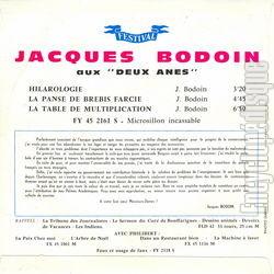 Encyclopdisque disque hilarologie - Jacques bodoin la table de multiplication ...