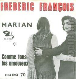 [Pochette de Marian (Frédéric FRANÇOIS)]