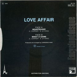 [Pochette de Earthquake (LOVE AFFAIR) - verso]