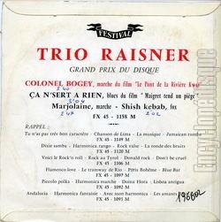 Trio Raisner - Hi-Fi-Harmonica