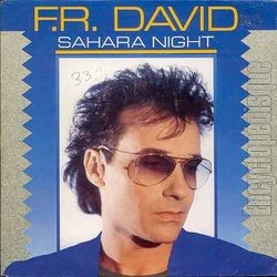 [Pochette de Sahara night (F.R. DAVID)]