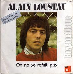[Pochette de On ne se refait pas (<b>Alain LOUSTAU</b>)] <b>...</b> - 61730
