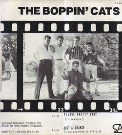 [Pochette de Please pretty baby (THE BOPPIN' CATS) - verso]