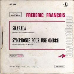 [Pochette de Shabala (Frédéric FRANÇOIS) - verso]