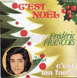 [Pochette de C'est Noël (Frédéric FRANÇOIS)]