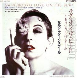 [Pochette de Love on the beat (Serge GAINSBOURG) - verso]