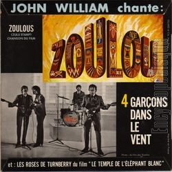 [Pochette de Les indiens (John WILLIAM) - verso]