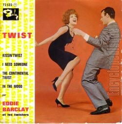 [Pochette de Kissin' twist (Eddie BARCLAY)]