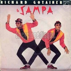 [Pochette de Le Sampa (Richard GOTAINER)]