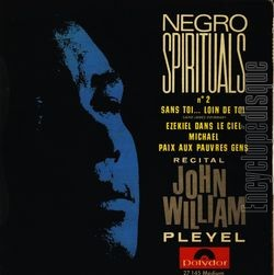 [Pochette de Negro spirituals n° 2 (John WILLIAM)]