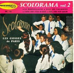 [Pochette de Scolorama vol.2 (Les GOSSES DE PARIS)]