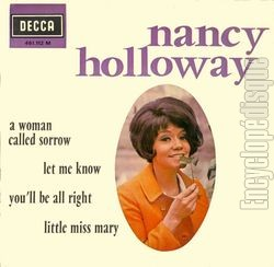 [Pochette de A woman called sorrow (Nancy HOLLOWAY)]