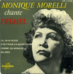 [Pochette de Monique Morelli chante Fréhel (Monique MORELLI)]