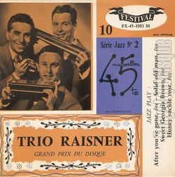 [Pochette de After you've gone (TRIO RAISNER)]