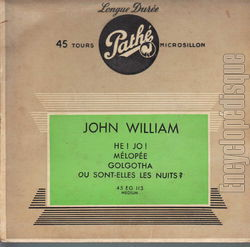 [Pochette de Hé ! Jo ! (John WILLIAM)]