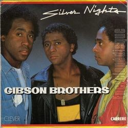 [Pochette de Silver nights (GIBSON BROTHERS)]