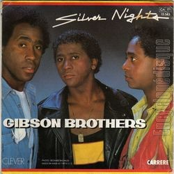 [Pochette de Silver nights (GIBSON BROTHERS) - verso]