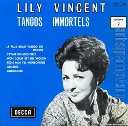 Lily Vincent - Tangos Immortels N°1