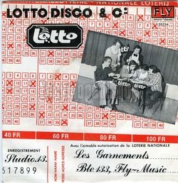 [Pochette de Lotto disco and Co (Les GARNEMENTS) - verso]