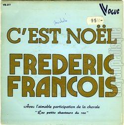 [Pochette de C'est Noël (Frédéric FRANÇOIS) - verso]