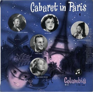 [Pochette de Cabaret in Paris (COMPILATION)]