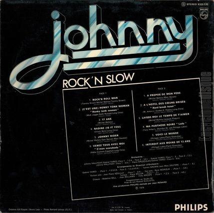 Encyclopdisque Disque Rock N Slow