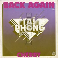[Pochette de Back again (TAÏ PHONG)]