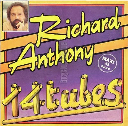 [Pochette de 14 tubes (Richard ANTHONY)]