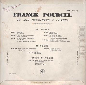Franck Pourcel Et Son Grand Orchestre Franck Pourcel Und Sein Großes Orchester Tango-Revue