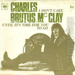 [Pochette de I don't care (Charles BRUTUS Mc CLAY)]