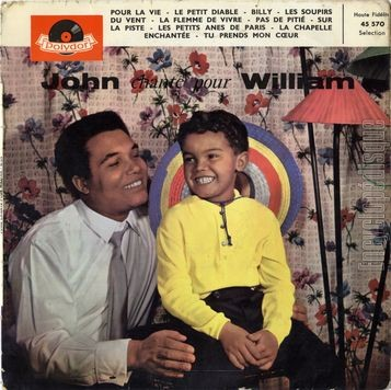 [Pochette de John chante pour William (John WILLIAM)]