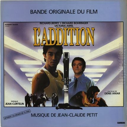 [Pochette de L'addition (B.O.F. « Films »)]