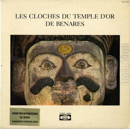 [Pochette de Les cloches du temple d'or de Benares (DOCUMENT)]