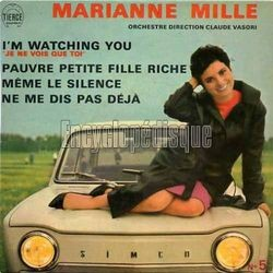 [Pochette de I'm watching you (Marianne MILLE)]