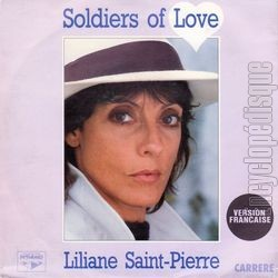 [Pochette de Soldiers of love (Liliane SAINT PIERRE)]