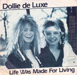 [Pochette de Dollie de Luxe - « Life was made for living » (Les FRANCOPHILES)]