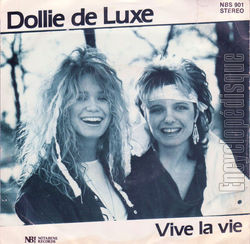 [Pochette de Dollie de Luxe - « Life was made for living » (Les FRANCOPHILES) - verso]